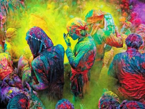 HOLI FESTIVAL INDIA - CREDIT INCREDIBLE INDIA