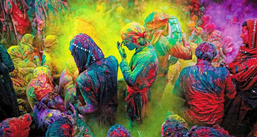 HOLI FESTIVAL INDIA - CREDIT INCREDIBLE INDIA